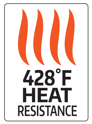 428 Degree Heat Resistance