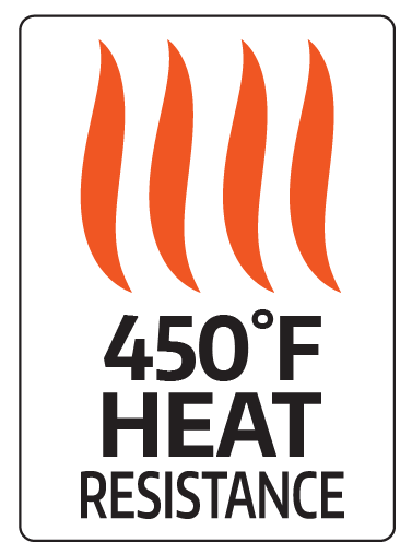 450 Degree Heat Resistance