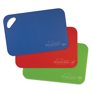 Item: MI6004SET - Mini Flexible Cutting Board Set
