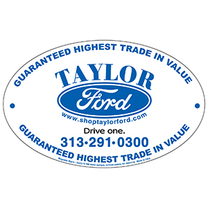 MG10500 - Outdoor Magnetic Signs - Oval