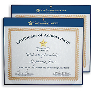 Item: 6034 - Economy Wall Certificate Holders