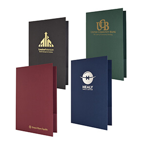 Item: 7780 - Linen Presentation Folder (Legal)