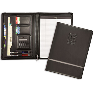 8066 - Chartwell Zippered Padfolio