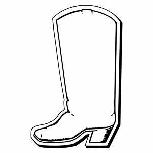 Boot1 - Indoor NoteKeeper&#0153 Magnet