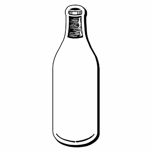 Bottle4 - Indoor NoteKeeper&#0153 Magnet