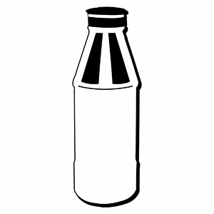 Bottle5 - Indoor NoteKeeper&#0153 Magnet