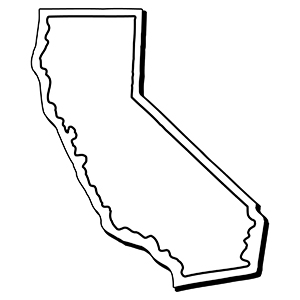 California1 - Indoor NoteKeeper&#0153 Magnet