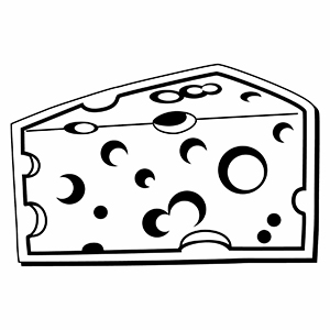 Cheese1 - Indoor NoteKeeper&#0153 Magnet