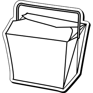 ChineseBox1 - Indoor NoteKeeper&#0153 Magnet