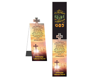 MG22072 - Cross Shape Magnetic Bookmark