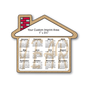 MG19056 - House Shape Magnetic Calendar
