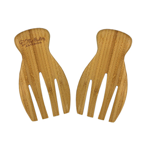 MI6084 - Bamboo Salad Tongs