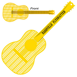 Item: Mi1027 - Large Guitar Fly Swatter