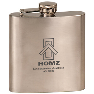Item: Mi4214 - Stainless Metal Flask