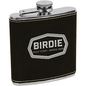 Item: Mi4216 - Leatherette Flask