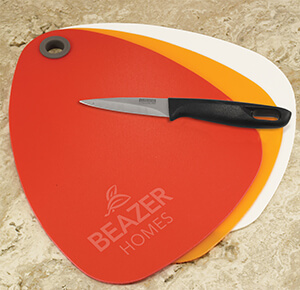Item: MI6001 - Pebble Shape Cutting Board Set