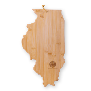 MI6192IL - Illinois Cutting Board