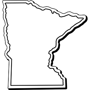 Minnesota1 - Indoor NoteKeeper&#0153 Magnet