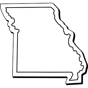 Missouri1 - Indoor NoteKeeper&#0153 Magnet