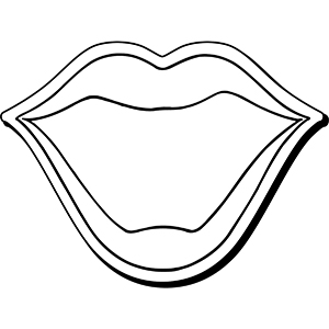 Mouth3 - Indoor NoteKeeper&#0153 Magnet