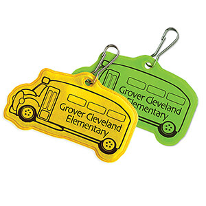 RF331 - School Bus Zipper Pulls