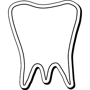 Tooth2 - Indoor NoteKeeper&#0153 Magnet