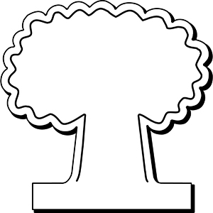 Tree2 - Indoor NoteKeeper&#0153 Magnet