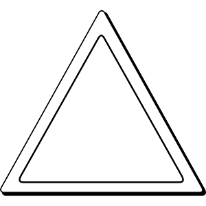 Triangle1 - Indoor NoteKeeper&#0153 Magnet