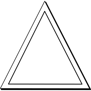 Triangle2 - Indoor NoteKeeper&#0153 Magnet