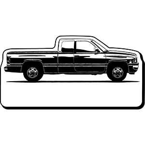 Truck20 - Indoor NoteKeeper&#0153 Magnet