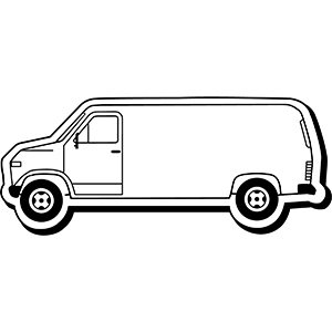 Van3 - Indoor NoteKeeper&#0153 Magnet